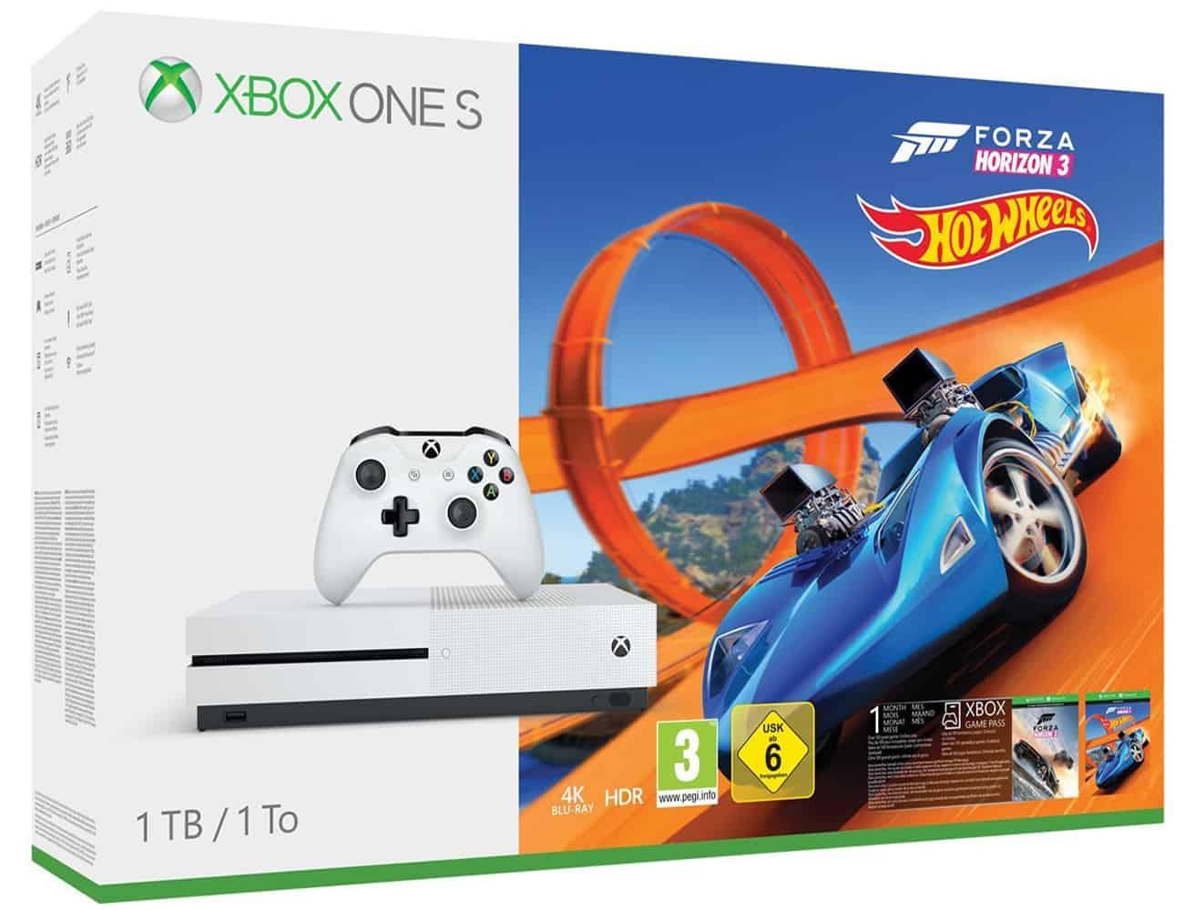 Microsoft Xbox One S 1TB Console - Forza Horizon 3 Hot Wheels Bundle
